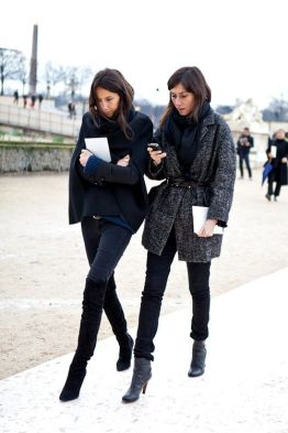 Paris Fashion Week 2012, Valentino, Emmanuelle Alt